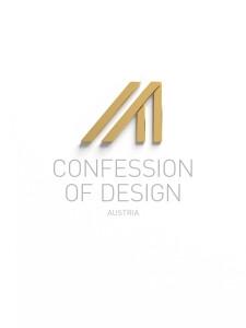 confession of design logo